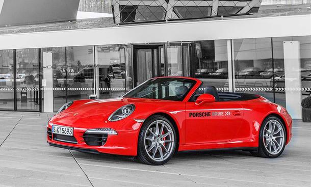 Porsche Drive Mietwagen 911 Cayman Boxster Macan Standorte Stuttgart