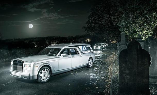 Rolls-Royce Leichenwagen AW Lymn Phantom Bestattung Luxus-Limousine