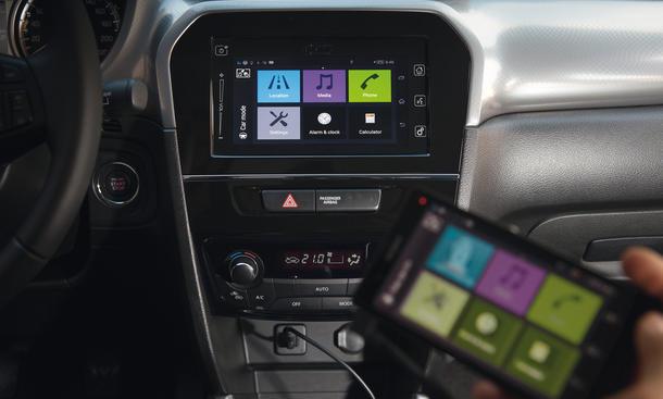 Neuer Suzuki Vitara 2015 Erste Testfahrt