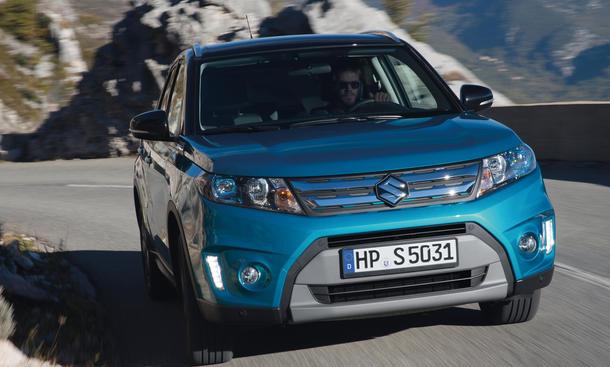 Suzuki Vitara 2014 Fahrbericht Kompakt SUV Diesel Gelandewagen Allradantrieb Bilder 2015