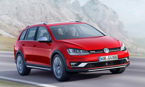 VW Golf Alltrack Variant 4Motion Allradantrieb 2014 Preis Motoren