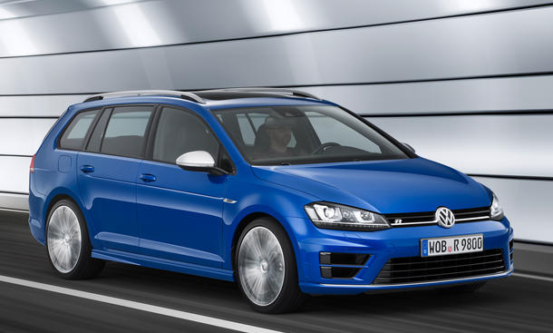 2015 VW Golf R Variant 2014 L.A. Auto Show Power-Kombi 4Motion 300 PS
