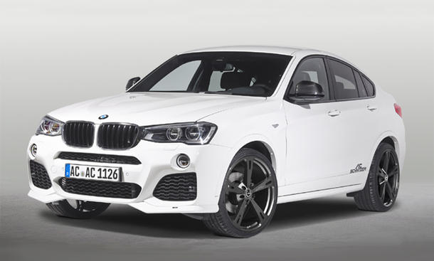 BMW X4 Tuning AC Schnitzer 2014 SUV Coupé Front