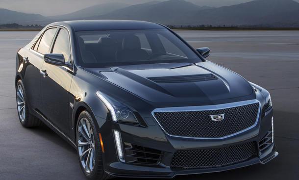 2016 Cadillac CTS V 2015 Detroit Auto Show Power Limousine
