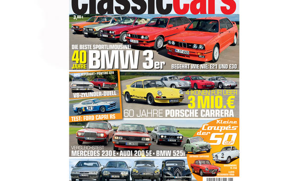 AUTO ZEITUNG Classic Cars 01 2015 Heft Vorschau Cover