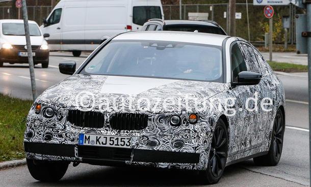 BMW 5er 2016 Erlkoenig Oberklasse Limousine