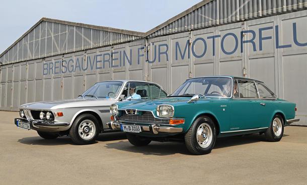 BMW 3.0 CS E9 Glas BMW 3000 V8 Vergleich Bilder technische Daten