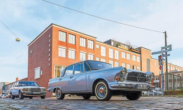 Borgward P 100 Mercedes 280 TE Historie Reportage Bilder