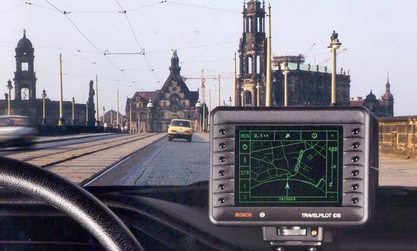Navi Navigationsgerät Jubiläum 25 Jahre Bosch Eva Travelpilot