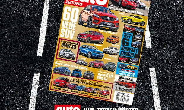 Auto Zeitung 01-02/2015 Heft-Vorschau Cover