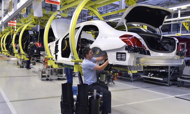 Deutsche Autohersteller Produktion Fertigung 2015 USA China Wachstum