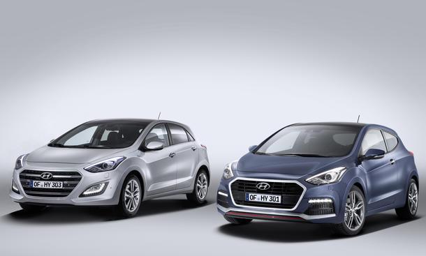 Hyundai i30 2015 Facelift Kompaktklasse Neuheiten Bilder technische Daten