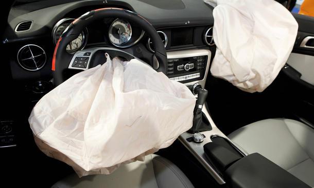 Intelligente Airbag Technik 2014 Sensorik Fortschritte Entwicklung