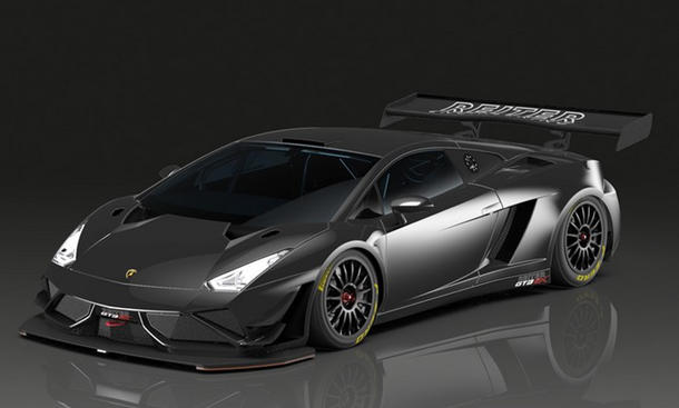 Lamborghini Gallardo GT3 Extenso R-EX Reiter Engineering Supersportler Rennwagen