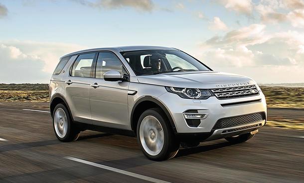 Land Rover Discovery Sport SD4 Fahrbericht SUV Bilder technische Daten