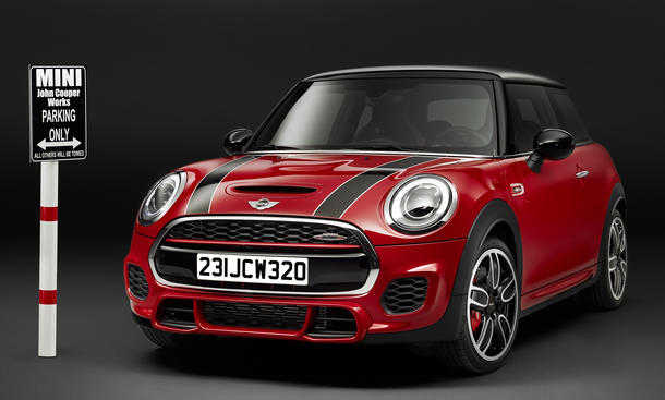 MINI John Cooper Works 2015 Detroit Auto Show Power Kleinwagen JCW