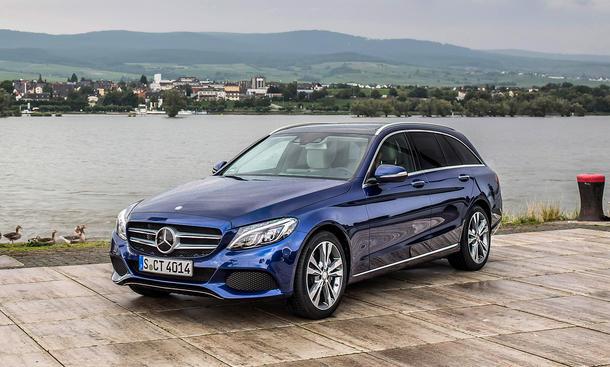 Pkw-Neuzulassungen November 2014 Mercedes C-Klasse KBA-Segmente Verkaufszahlen
