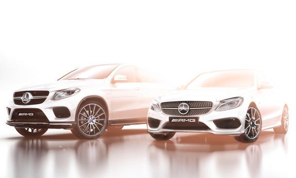 Mercedes C450 AMG GLE Coupé Sport V6-Biturbo NAIAS Detroit Auto Show 2015 Premiere Neuheiten