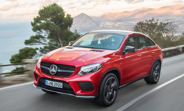 Mercedes GLE 2015 Suv Coupe Bilder technische daten vorstellung neuheit 0002