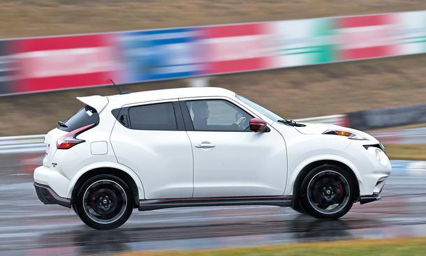 Nissan juke nismo rs sportliches suv mit for Fahrbericht nissan juke