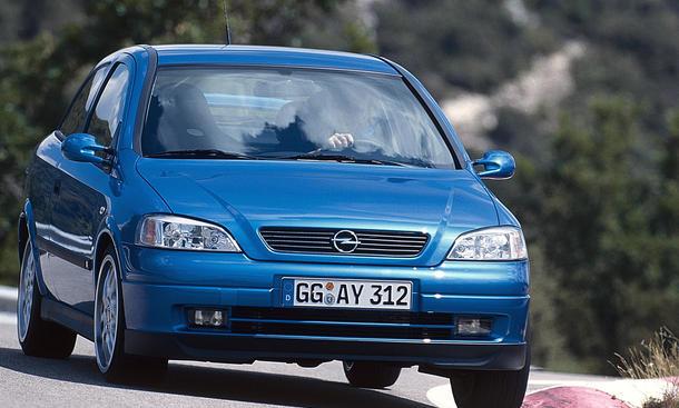 Opel Astra G OPC 1999 Werkstuning Jubiläum 15 Jahre