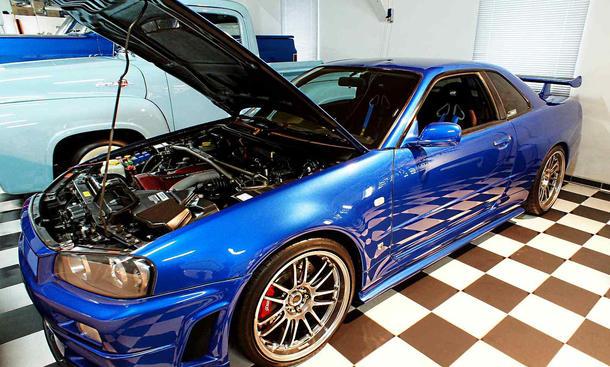 Paul Walker Nissan Skyline GT R Fast and the furios4 auctionverkauf film 0002