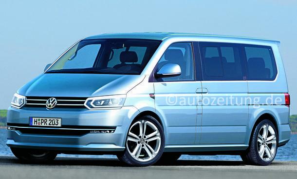 VW T6 2015: So ausgereift kommt der neue VW Bus - autozeitung.de
