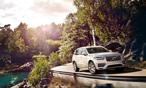 Volvo XC90 2015 T8 Motor Hybrid-Benziner Preis Technik Infos Bilder 0002