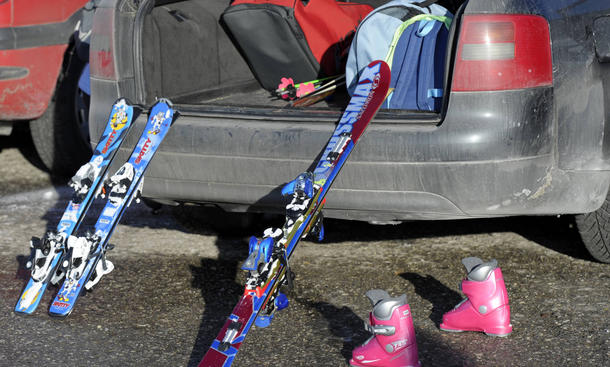 Ski-Transport, Sicherheit, Dachbox, Kofferraum, Auto, Ratgeber