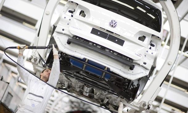 Volkswagen-Verkäufe VW Einbruch November PKW Jahresrekord Skoda