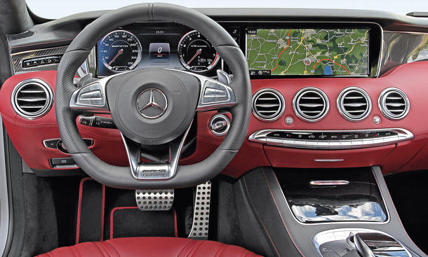 mercedes s 63 amg coup vs bmw m6 vergleich der luxus sportcoup s bild 7. Black Bedroom Furniture Sets. Home Design Ideas