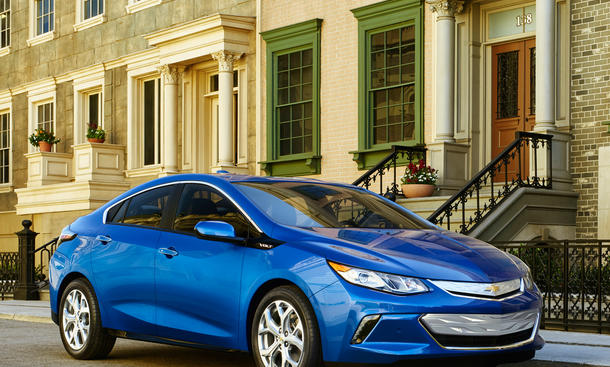 Chevrolet Volt Facelift 2016 NAIAS Elektroauto Range-Extender Detroit Auto Show