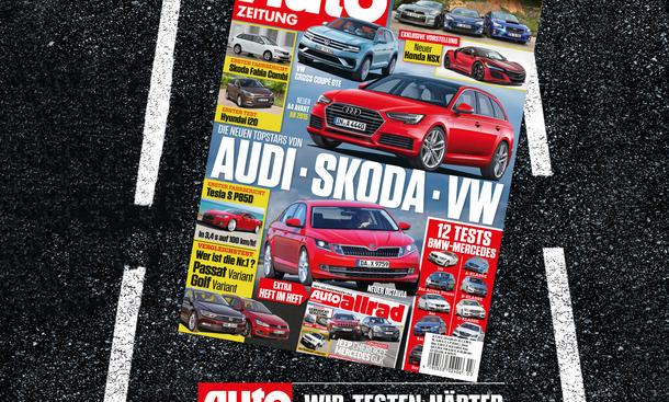 Auto Zeitung 3/2015 Heft-Vorschau Cover
