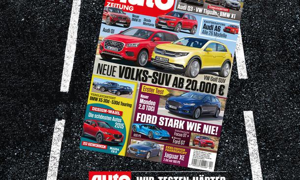 Auto Zeitung 4/2015: Heft-Vorschau
