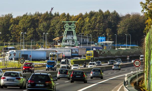 Autobahn Netz 2015 Ausbau Erweiterung A71 A23