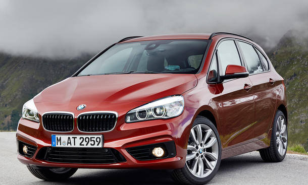 BMW 214d Active Tourer Dreizylinder 218i 418d 420d