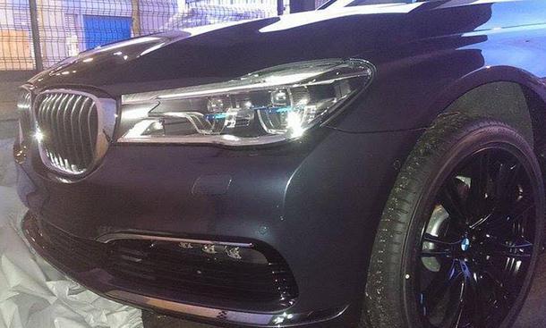 BMW 7er 2015 IAA Luxus Limousine Vorschau Leichtbau Design Technik Infotainment