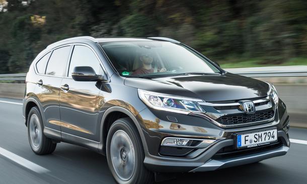 Fahrbericht Honda CR-V 2015 1.6 i-DTEC Kompakt SUV Diesel Allrad
