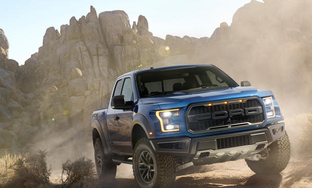 Ford F 150 Raptor 2015 Detroit Auto Show Power SUV Pickup Truck