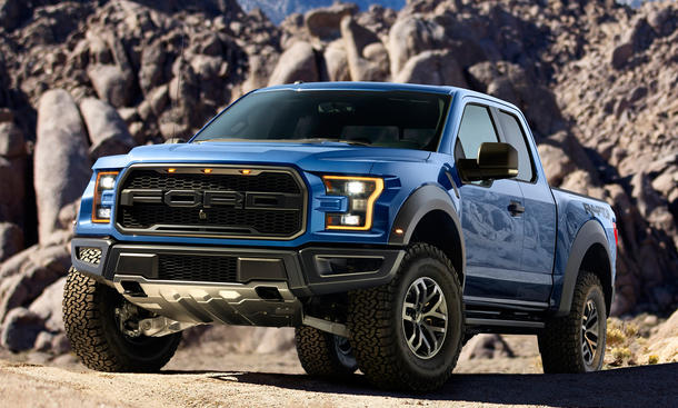 Ford f 150 Raptor 2015 Detroit