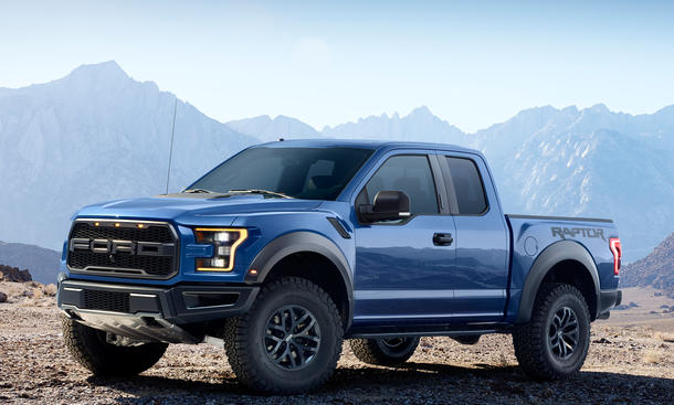 Ford F 150 Raptor 2015 Power Pickup Mit 417 PS In Detroit