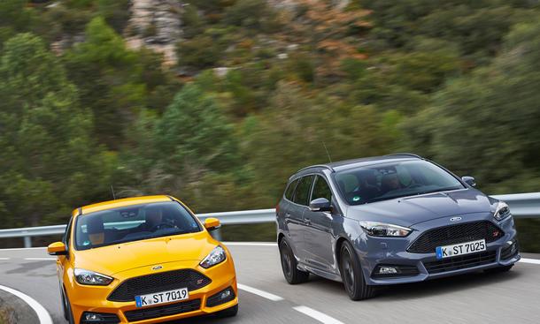 Ford Focus ST 2014 ST Diesel Fahrbericht Turnier Kombi Limousine