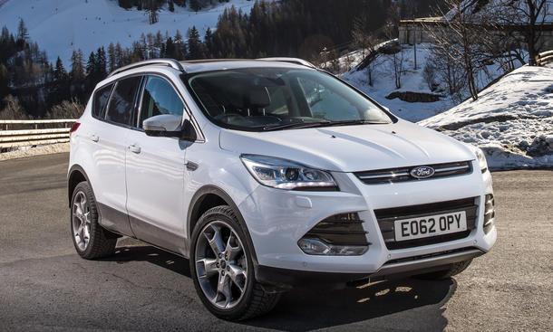 Pkw-Neuzulassungen Dezember 2014 SUV Ford Kuga KBA-Segmente Verkaufszahlen