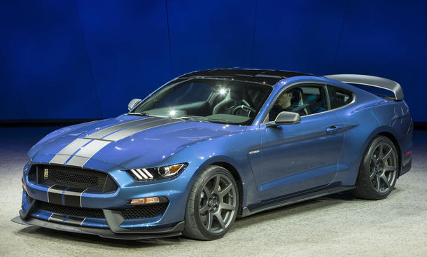 Shelby GT350R Ford Mustang 2015 Detroit Auto Show NAIAS