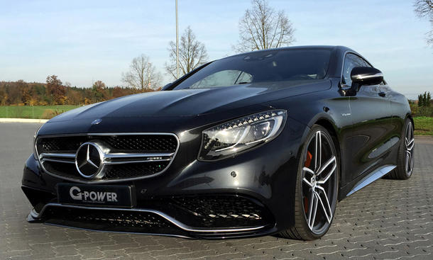 Mercedes S 63 AMG Coupé von G-Power