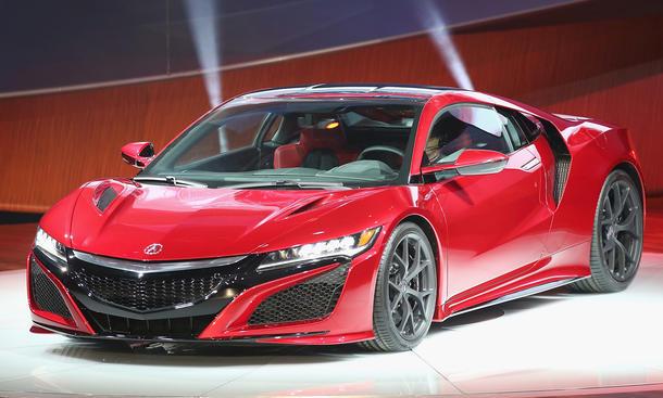 2016 Honda NSX Detroit Auto Show 2015 NAIAS Premiere Hybrid Supersportwagen