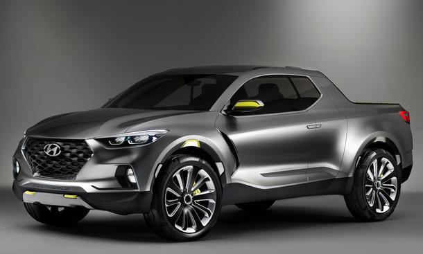 Hyundai Santa Cruz 2015 Detroit Pickup Truck Concept