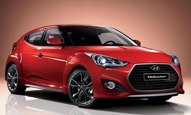 Hyundai Veloster Facelift 2015 Doppelkupplungsgetriebe Sport Coupe Sound