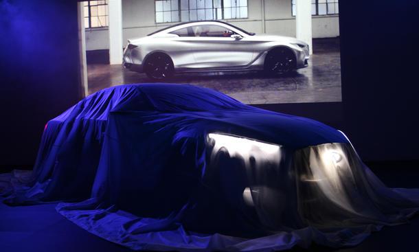 Infiniti Q60 Concept Live-Bilder Premium Sportcoupe auf der Detroit Auto Show 2015