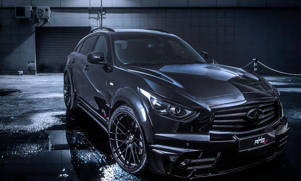 Infiniti QX70 LR3 Karosserie Kit Tuning AG Sports Larte design 0002